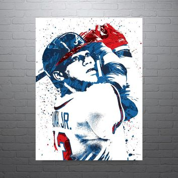 Ronald Acuna Jr Atlanta Braves Poster