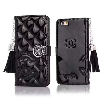 CHANEL Fashion iPhone Phone Cover Case For iphone 6 6s 6plus 6s-plus 7 7plus 8 8plus X