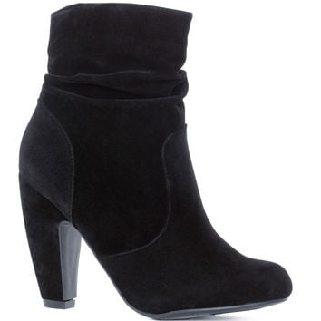 Lexi Scrunch Booties - Black