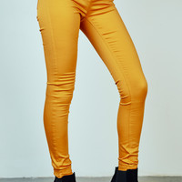 RIO YELLOW BETTER BOOTY JEGGING - STYLE STEALS