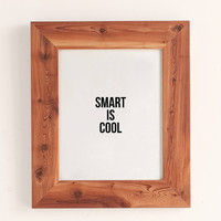 Cult Paper Smart Is Cool Art Print | Urban Outfitters