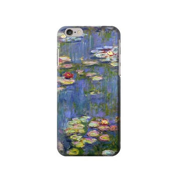 P0997 Claude Monet Water Lilies Case For IPHONE 6 Plus