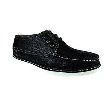 J Awake Men's Carson11 Casual Lace up Chukka Boots