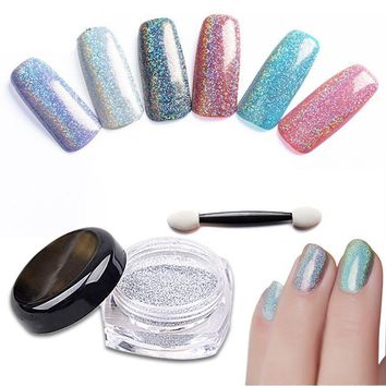 Glitter Powder Chrome Pigment Manicure Nail Art Decorations