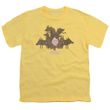 Adventure Time LSP And Wolves Youth T Shirt