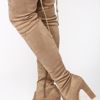 So Over It Boot - Taupe