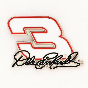 "Licensed Dale Earnhardt Official NASCAR 1"" x 1"" Lapel Pin by Wincraft 563422 KO_19_1"