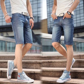 Summer Casual Denim Shorts Pants Jeans [6541375555]