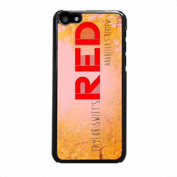 taylor swift red iphone 5c 5 5s 4 4s 6 6s plus cases