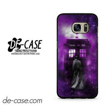 Tardis Tenth Doctor Dr Who In Space Purple DEAL-10497 Samsung Phonecase Cover For Samsung Galaxy S7 / S7 Edge