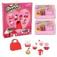 Shopkins Season 4 Valentine's Day Sweetheart Collection (Sweetheart Collection + 2 Season 4 2-Packs)