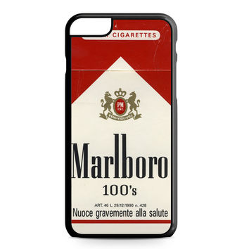 Marlboro 100 Cigarettes iPhone 6 Plus case