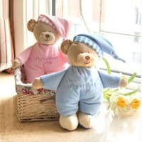 ONETOW Baby plush bear toy soft gift for baby child newborn product boy girl safety free shipping