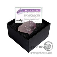 Green Earth Stores | 00213932639 - Rock Box - Amethyst Points