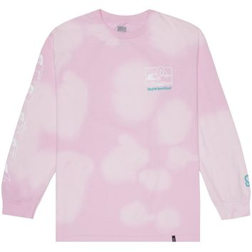 HUF X KEEP A BREAST TIE-DYE L/S TEE