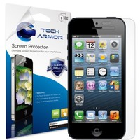 Tech Armor Apple New iPhone 5 High Definition (HD) Clear Screen Protector with Lifetime Replacement