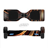 The Dark Orange Shadow Fabric Full-Body Skin Set for the Smart Drifting SuperCharged iiRov HoverBoard