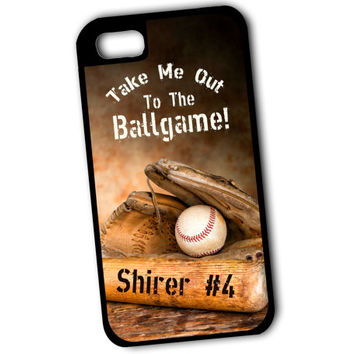 Baseball Phone Case, iPhone 5 Case, iPhone 4 Case, iPhone 5C Case, iPhone Case, Samsung Galaxy, Baseball Mom, Baseball Coach