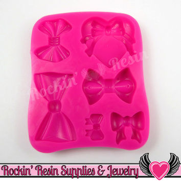 BOWS SILICONE MOLD, Food Grade