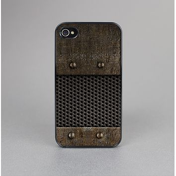 The Bolted Metal Sheets Skin-Sert for the Apple iPhone 4-4s Skin-Sert Case