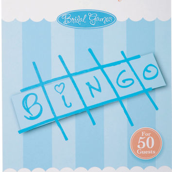 Victoria Lynn Bridal Game Sheets 50/Pkg-Bingo