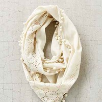 Neon Embellished Eyelet Eternity Scarf - Urban Outfitters