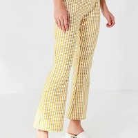 UO Casey Cropped Flare Pant | Urban Outfitters