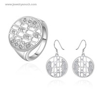 Fashion Silver Plating Women And Men Faces Unique Jewelry