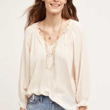 Velvet by Graham and Spencer Ischia Peasant Top