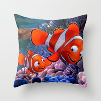 Nemo Throw Pillow by Max Jones