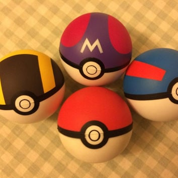 New 2015 Pokemon Monster Pokeball Pokemon ball Pokemon Soft Foam Poke Ball model toy very fashion free shipping