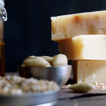 No. 301 Ancient Ambers: Honey Almond & Oats Composite Soap