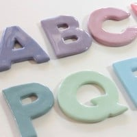 Newborn Baby Gifts - Ceramic letters