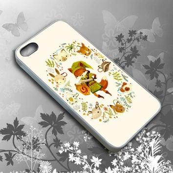 Raccoon The Legend of Zelda Cell Phone, iPhone 4/4s/5/5s/5c case cover, iPod 4/5 case cover, Samsung Galaxy S4/S5 case cover