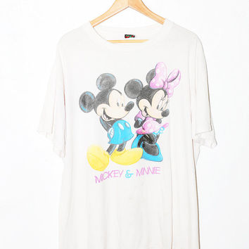 Vintage Mickey and Minnie Shirt