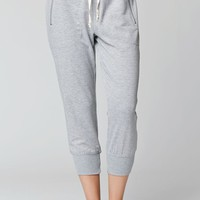 LA Hearts Zip Pocket Cropped Jogger Pants - Womens Pants