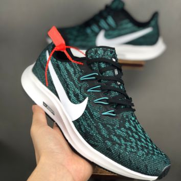HCXX 19June 1071 Nike Air Zoom Pegasus 36 Mesh Breathable Lightweight soft soles running shoes