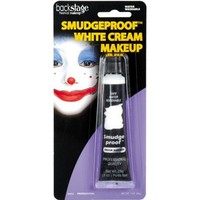 White No Smudge Cream Makeup 1oz- Party City