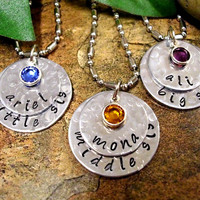 Sisters Necklace Set, Little Sister, Middle Sister, Big Sister Necklace Set, Personalized Jewelry, Jewelry for Sisters