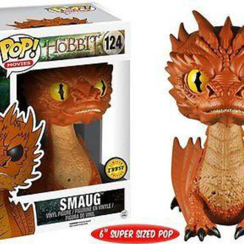 Funko Pop Movies: The Hobbit - Smaug Yellow Eyes Chase Vinyl Figure