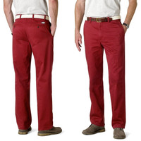Arkansas Razorbacks Dockers Game Day Classic Fit Pants - Cardinal