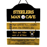 Pittsburgh Steelers Official NFL Mancave Sign