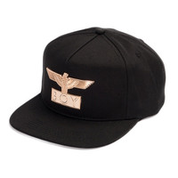 Boy London Gold Tone Emblem Hat