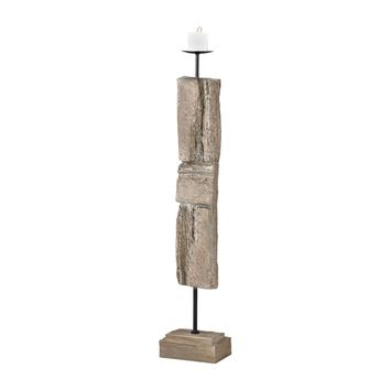 Acueducto Candle Holder Driftwood