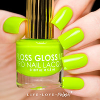 Floss Gloss Con Limon Nail Polish