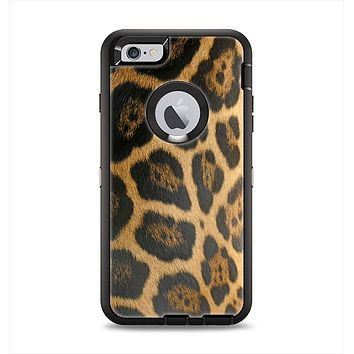 The Real Thin Vector Leopard Print Apple iPhone 6 Plus Otterbox Defender Case Skin Set