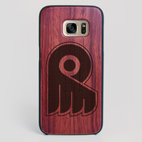 Philadelphia Flyers Galaxy S7 Edge Case - All Wood Everything
