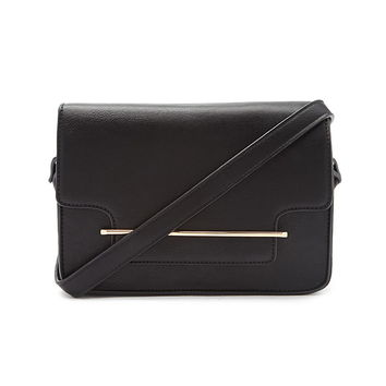 Metal Bar Crossbody