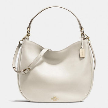 COACH Women Shopping Leather Tote Crossbody Satchel Shoulder Bag From Best Gifts