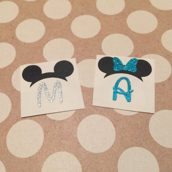 GLITTER Disney Magic Band Decal | Walt Disney Decal | Disney Decal | First Disney Vacation | First Disney Trip | Magic Band Sticker | 178